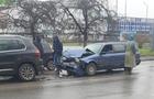 В Ужгороді зіштовхнулися два автомобіля Фольксваген (ФОТО)
