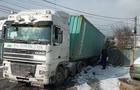 На Свалявщині одна й та ж вантажівка двічі потрапила в ДТП