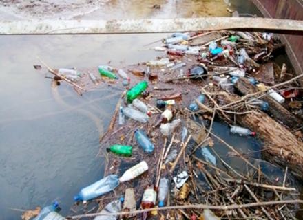 За місяць з Тиси угорці дістали 42 тонни пластику