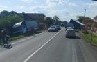 ДТП на Мукачівщині: Дві вантажівки перекинулися в кювет