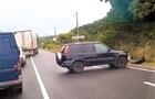 ДТП на Мукачівщині - один з автомобілів злетів з дороги