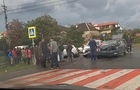 У Мукачеві автомобіль врізався у підводу