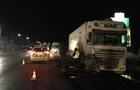 Біля Мукачева у вантажівки відмовили гальма і вона зіштовхнулася з мікроавтобусом