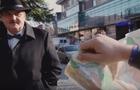 Гуморист Чучка розказує туристу, як пройти до замку (ВІДЕО)