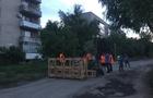 На Закарпатті люди перекрили дорогу і встановили блок-пости