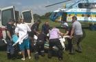 З Тячева до Ужгорода терміново доправили вертольотом вагітну жінку