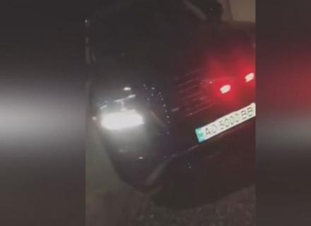 Депутатська вседозволеність на Закарпатті: Син депутата хизувався автомобілем зі спецсигналами (ВІДЕО)