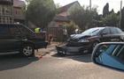 Причина аварії чотирьох автомобілів у Мукачеві - недотримання дистанції