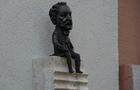 В Ужгороді встановили міні-скульптуру автору музики гімну Угорщини