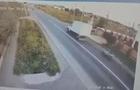 Смертельна аварія: Появилося відео моменту зіткнення мотоциклу та вантажівки у Ракошині (ВІДЕО)
