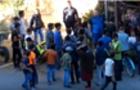 На Закарпатті цигани штурмували магазин, щоб помститися його господарю (ВІДЕО)