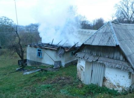 На Іршавщині у власному будинку згорів чоловік (ФОТО)