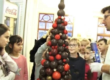 Новий Новорічний шоколадний шедевр створив закарпатський кондитер Штефаньо