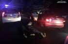 В Ужгороді наркоман на Шкоді протаранив поліцейський автомобіль