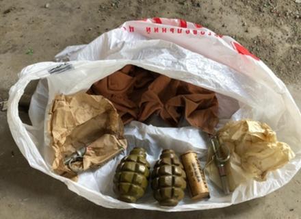 Правоохоронці затримали ужгородця, який продавав гранати та тротилові шашки
