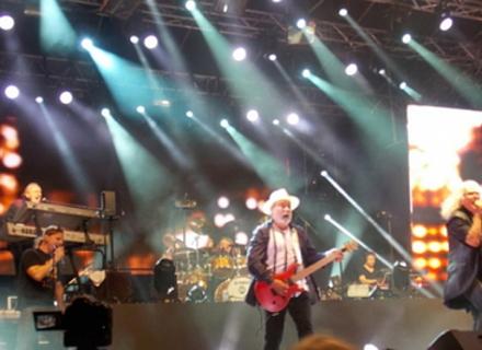 Музикантам Омеги сподобалося в Берегові і вони пообіцяли приїхати ще
