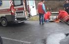 На Рахівщині автомобіль врізався у відбійник: госпіталізовано пасажирку (ВІДЕО)