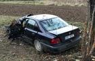 Ще одна аварія на Іршавщині: З дороги винесло автомобіль БМВ