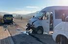 Четверо дітей травмувалися в результаті зіткнення двох мікроавтобусів на Воловеччині