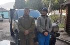 На Рахівщині прикордонники переслідували джип з фальшивими номерами, на якому тікали контрабандисти