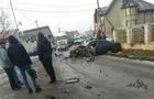 На Рахівщині зіткнулися вантажівка та легковик