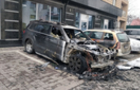 В Ужгороді біля ресторану Венеція спалили автомобіль