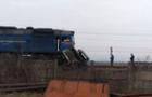 На Тячівщині потяг вдарив асенізаторську вантажівку