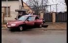 У Хусті зіштовхнулися два автомобілі ВАЗ (ВІДЕО)