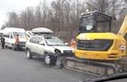 На Мукачівщині автомобіль вдарився в екскаватор