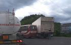 У Мукачеві рейсовий автобус зіштовхнувся з вантажівкою