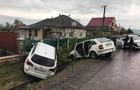 На Виноградівщині два авто вилетіли в кювет після зіткнення
