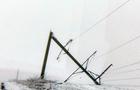 Стихія на Закарпатті: Снігова буря залишила без електропостачання понад 120 населених пунктів