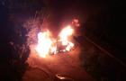 В Ужгороді згорів автомобіль прокурора (ВІДЕО)