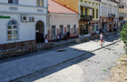Вивіски на магазинах на реконструйованій площі Петефі в Ужгороді будуть виготовлені в одному стилі