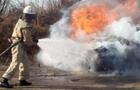 На Воловеччині загорілася вантажівка