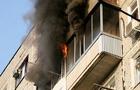В Ужгороді сталася пожежа в багатоповерхівці
