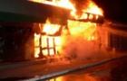 В Ужгороді згорів салон весільних суконь