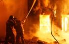 У Хусті згорів житловий будинок