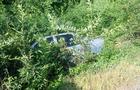 Біля Мукачева автомобіль вилетів з дороги в кювет