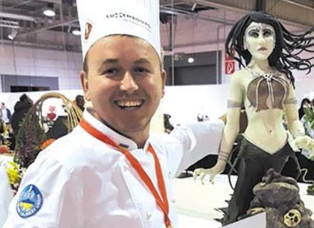 Закарпатський кондитер виборов золото на Кубку світу з кулінарії