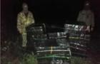 На БерегівщинІ прикордонники зупинили контрабанду 13 тисяч пачок сигарет
