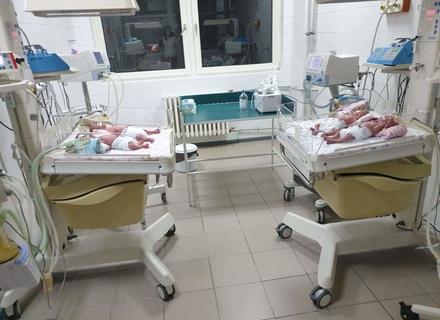 В Ужгороді жінка народила четвірню