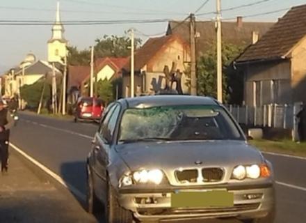 На Ужгородщині водій BMW насмерть збив велосипедиста