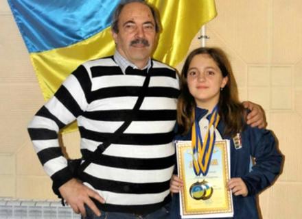 Іршавчанка Катерина Мойсей підтвердила звання чемпіона України з Шашок серед дітей