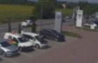Поліція оприлюднила відео ДТП, у якій зіштовхнулося аж 6 автомобілів (ВІДЕО)