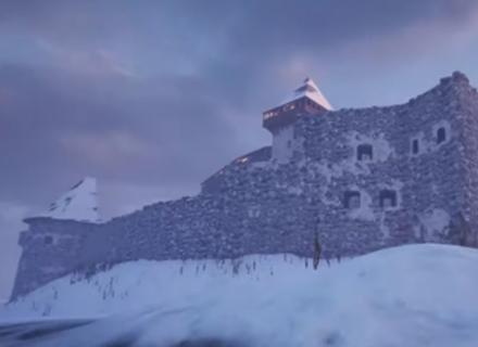 Невицький замок зробили у тривимірному ігровому середовищі