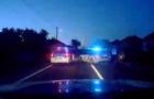П'яний водій на автомобілі тікав від патрульних і злетів у кювет (ВІДЕО)