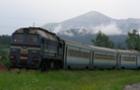 Курйоз: На Закарпатті пасажирам довелося штовхати потяг (ВІДЕО)