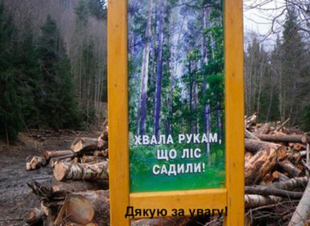 На Закарпатті колектив лісгоспу виступив різко проти свого новопризначеного начальника (ВІДЕО)