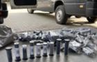 На ПП Тиса митники виявили в мікроавтобусі з Італії партію комплектуючих до зброї